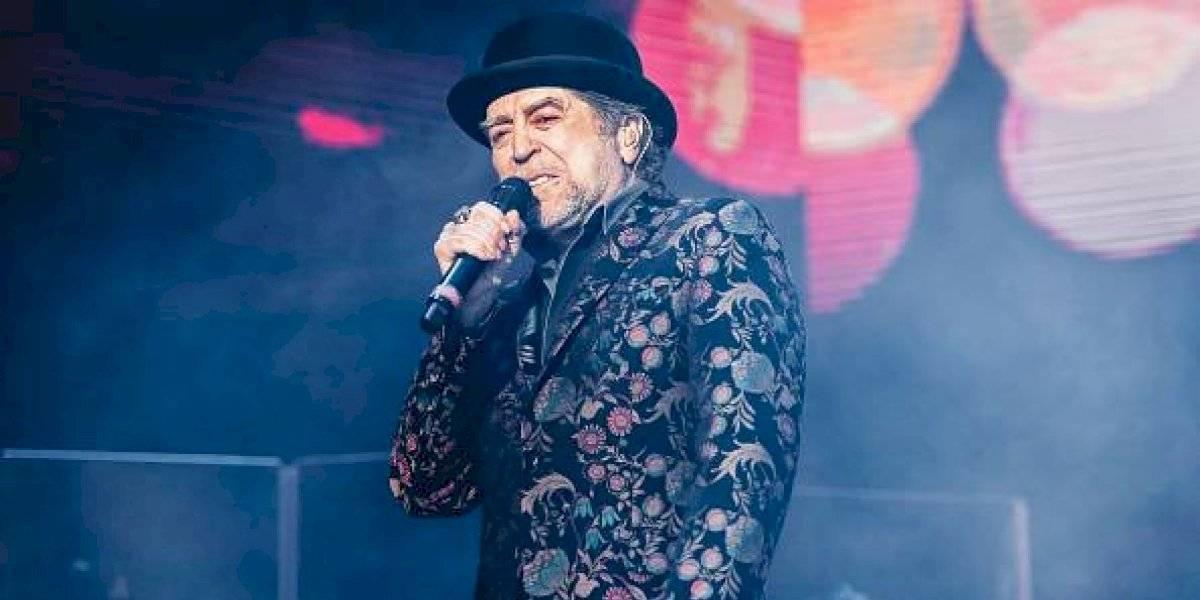 Joaquín Sabina sufrió derrame cerebral tras caída en concierto