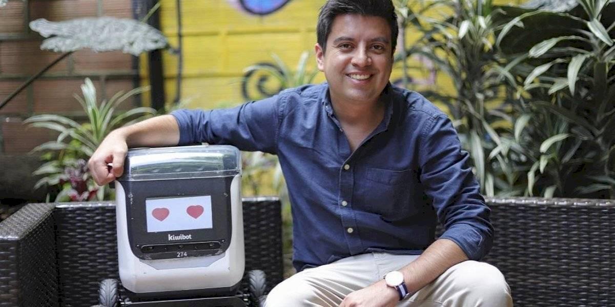 Kiwibot, el robot colombiano que se perfecciona en Medellín