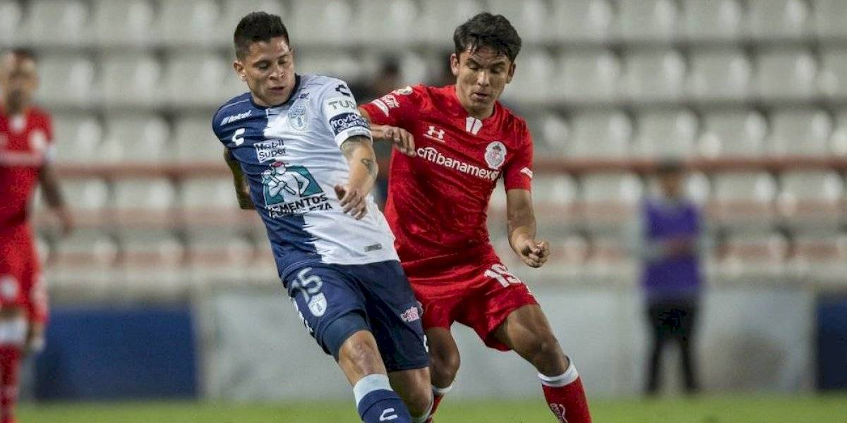 Pachuca rescata empate en el último minuto en la Copa MX