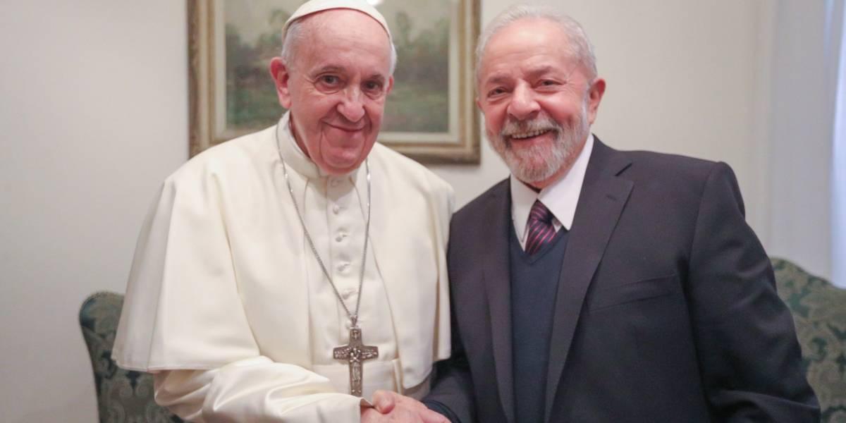 Lula fue recibido por el papa Francisco en el Vaticano: hablaron sobre riqueza y desigualdad