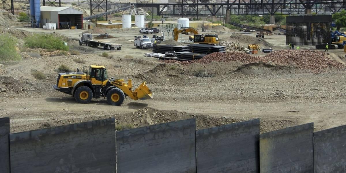 Pentágono libera 3 mil 800 millones de dólares para muro fronterizo con México