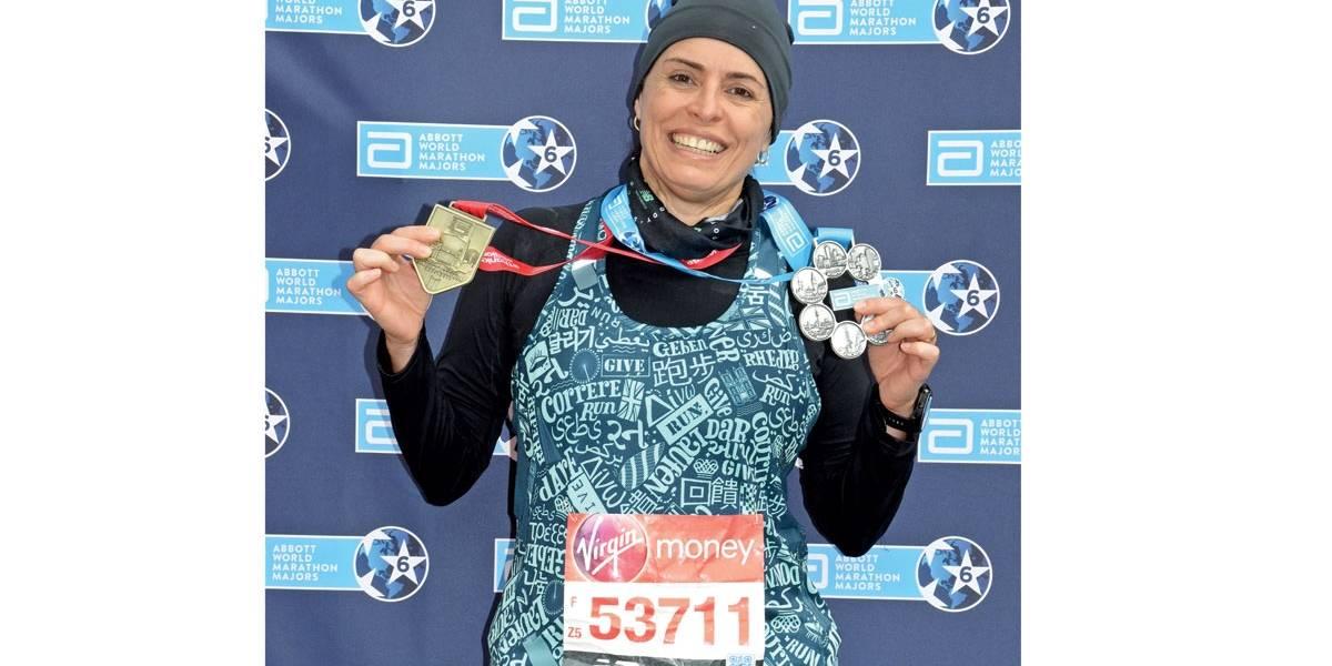 Executiva lança livro sobre experiência nas seis maratonas mais importantes do mundo