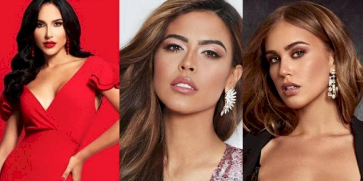 Modelos que podrían asistir a 'castings' de Miss Universe P. R. 2020