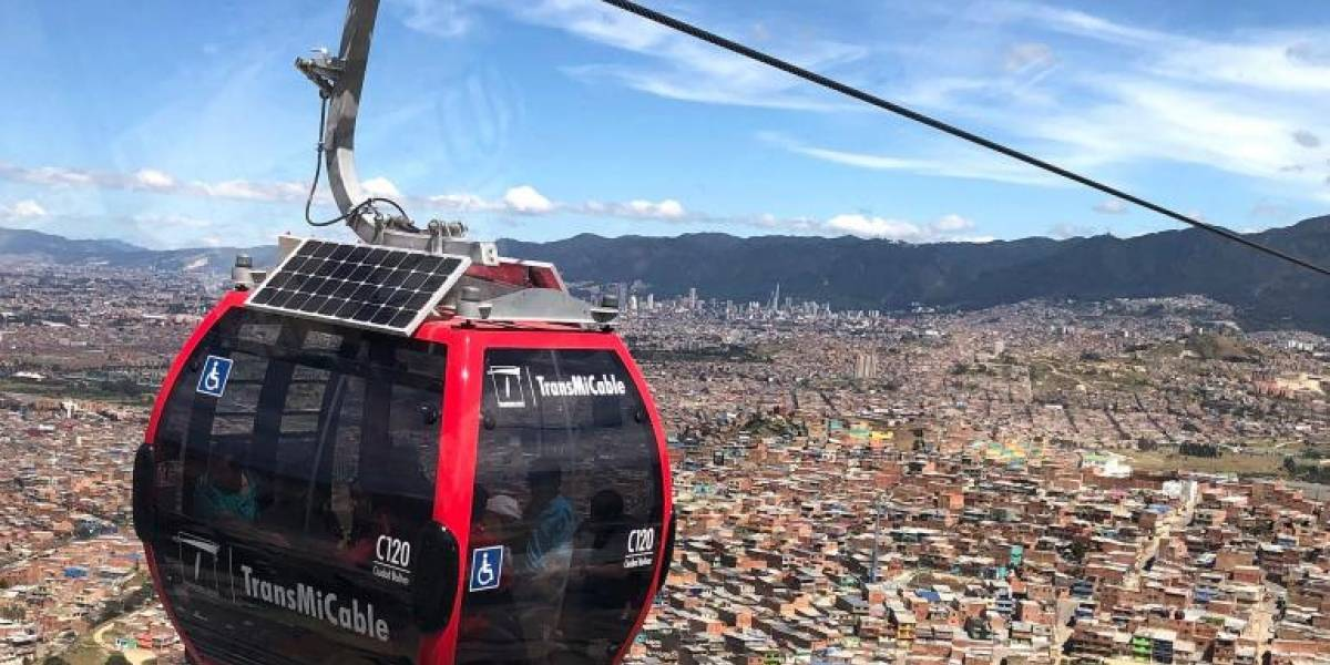 Claudia López anuncia construcción del cable aéreo de San Cristóbal