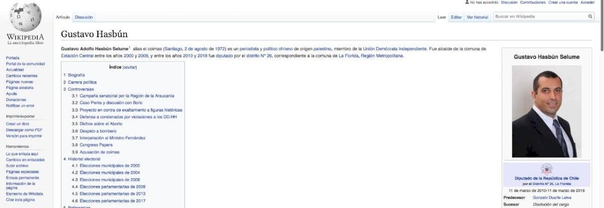 Biografía Gustavo Hasbún