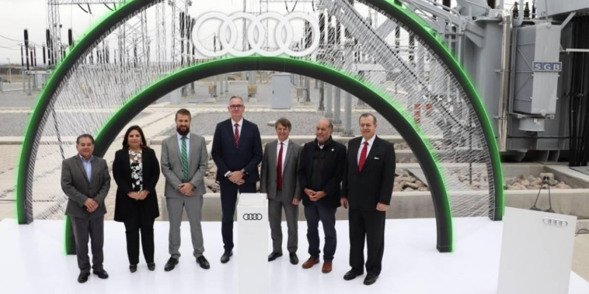 Audi México es una empresa 100% energía verde: la planta realiza una producción sustentable