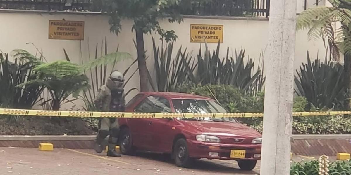 Falsa alarma de carro bomba que causó pánico en el norte de Bogotá