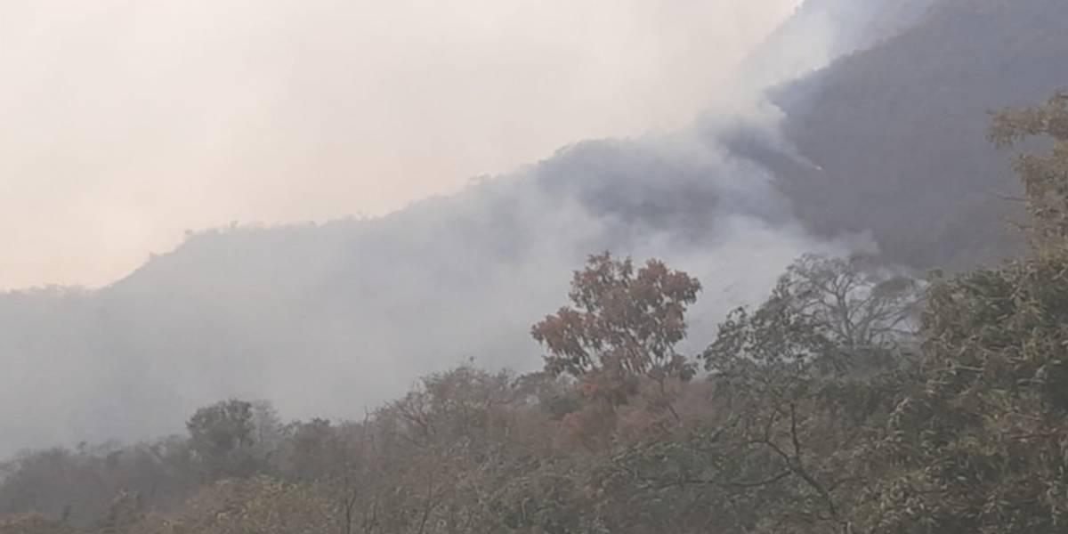 Arde la Sierra Nevada en el Magdalena