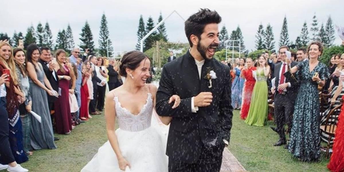 El polémico momento en la boda de Evaluna Montaner y Camilo Echeverry que genera debate en redes