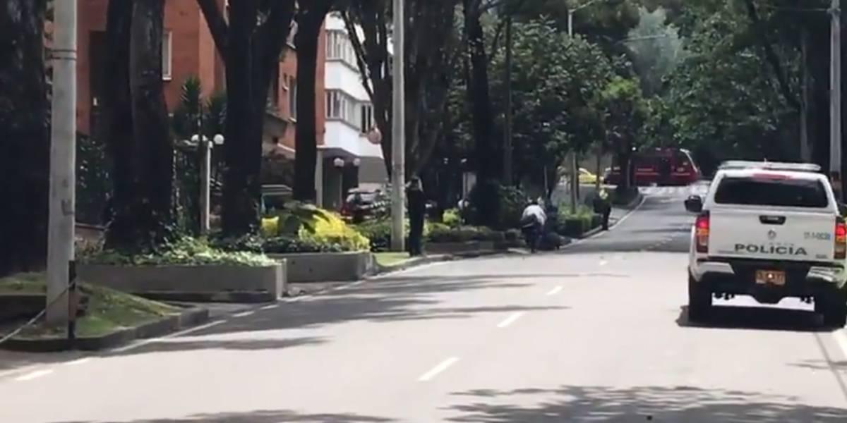 Alerta por carro sospechoso frente a embajada británica