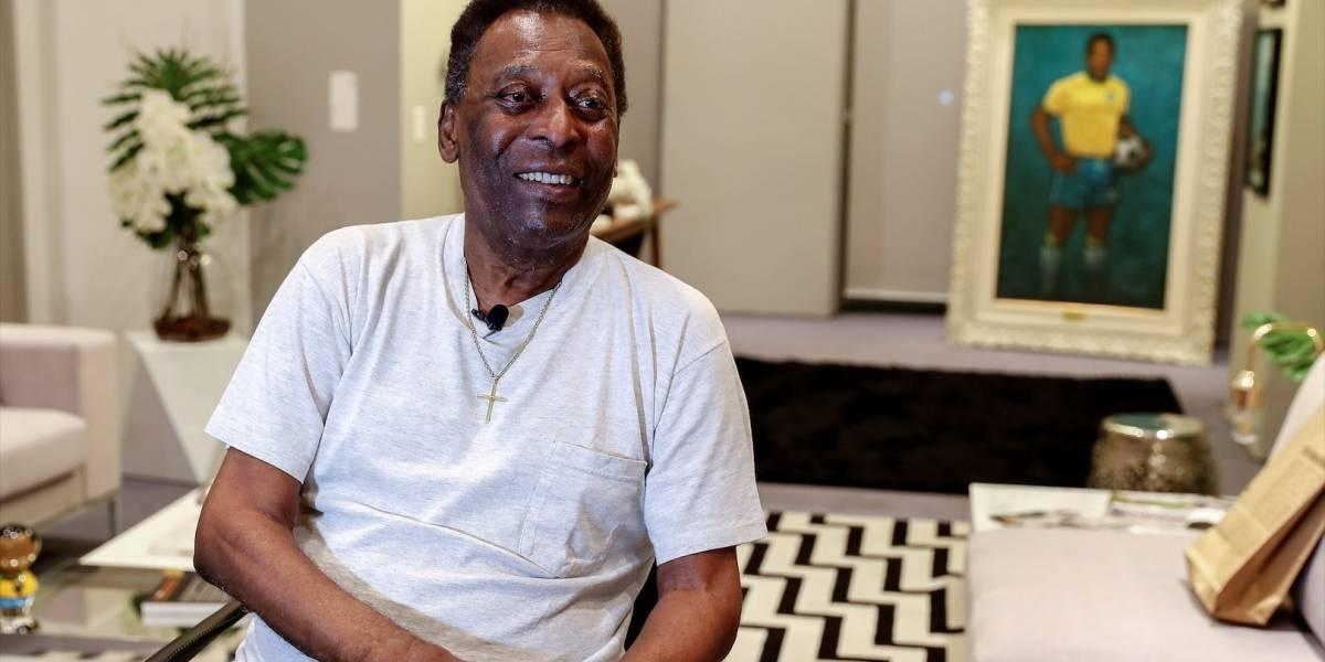 Pelé se pronunció sobre la supuesta depresión de la que habló su hijo en días anteriores