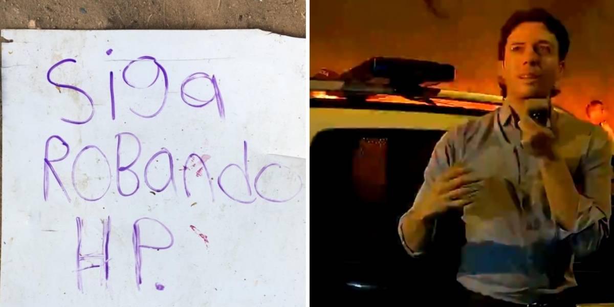 Cansado de que en Medellín maten ladrones, alcalde protestó