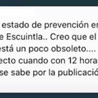 Estado de prevención en seis municipios de Escuintla.