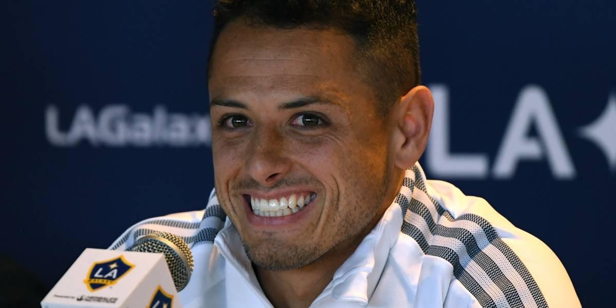 El nuevo mensaje motivacional de 'Chicharito' Hernández