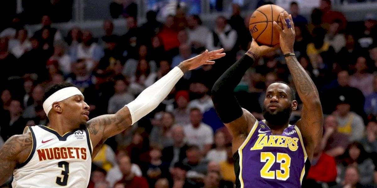 NBA: LeBron James llega como la gran figura para un emotivo All Star