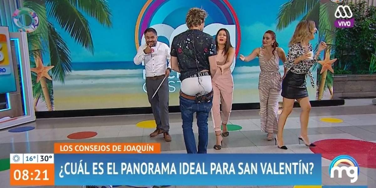 "Joaquín Méndez sufrió vergonzoso chascarro en ""Mucho Gusto"""