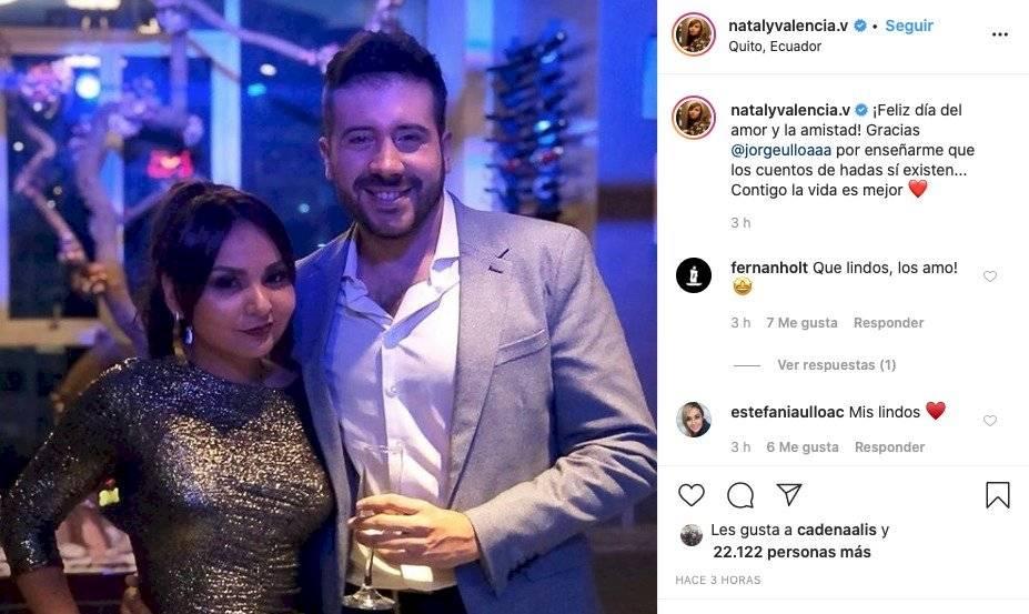 Jorge Ulloa y Nataly Valencia