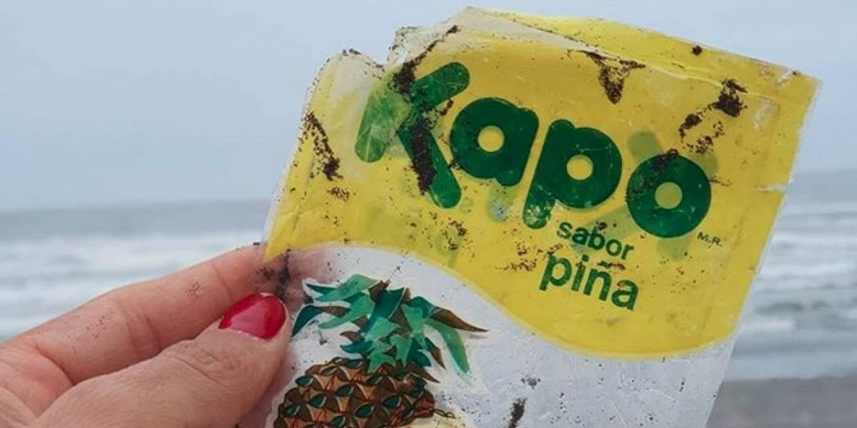 Encuentran envase de Kapo de 1982 en el mar de Santo Domingo y hallazgo causa preocupación