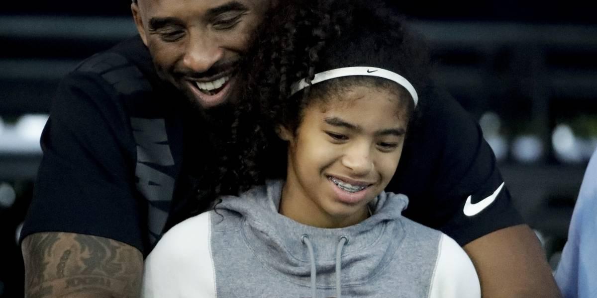 Filtran imágenes de la tumba de Kobe Bryant y su hija Gianna