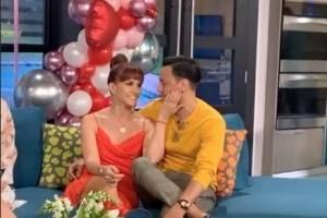Francis Rosas declara su amor por Tita Guerrero en San Valentín