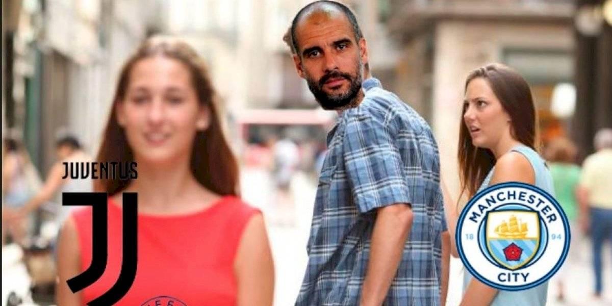 Los mejores memes de Guardiola tras sanción del Manchester City