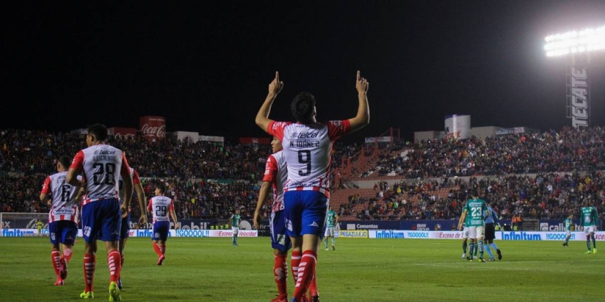 Luis Felipe Gallegos se quedó con el duelo de chilenos entre Atlético San Luis y el León de Jean Meneses en la Liga MX