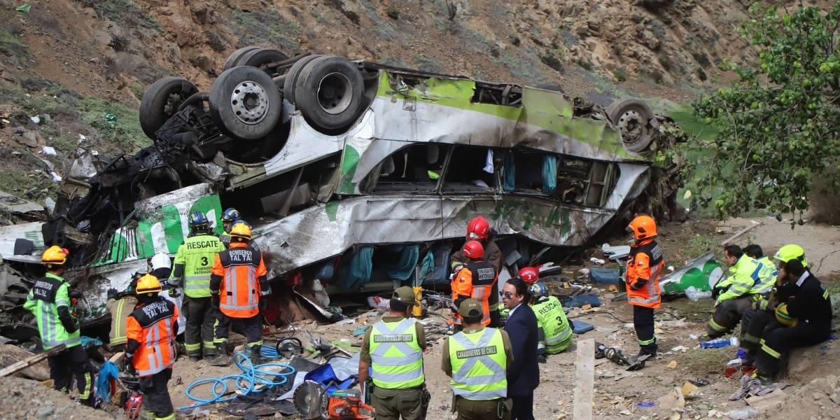 La cifra más alta de la década: 51 personas fallecieron en accidentes de buses interurbanos el 2019