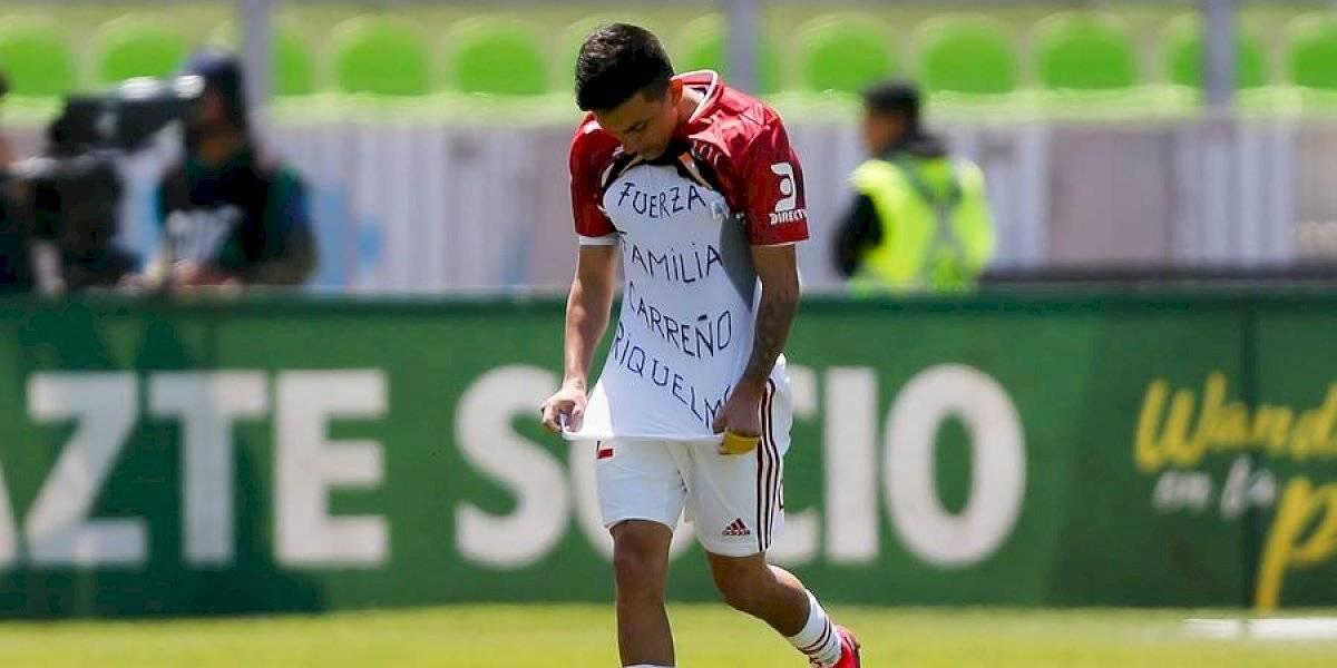 """Pablo Aránguiz le dedicó un sentido mensaje a Jaime Carreño tras su gol ante Santiago Wanderers: """"Lo quiero mucho"""""""