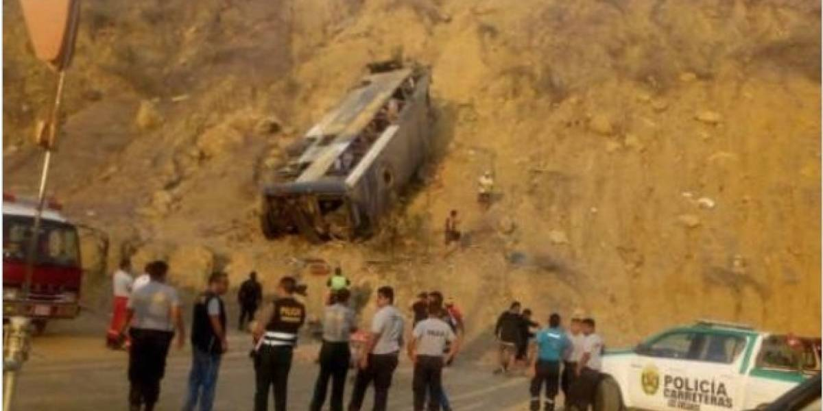 La historia se repite con hinchas de Barcelona SC accidentados en bus