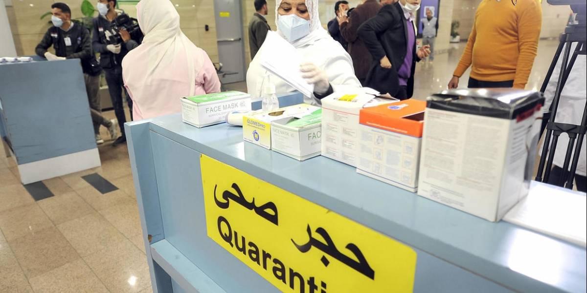 Egipto registra el primer caso del coronavirus, la llegada de la epidemia a África