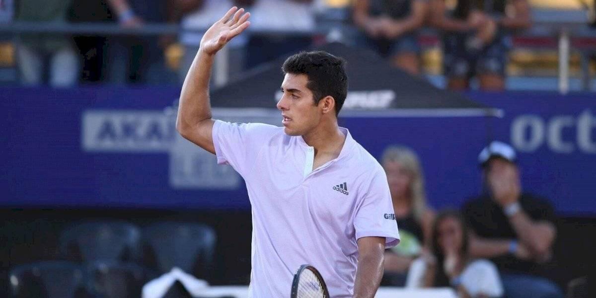 Cristian Garin ya conoció a su rival en la primera ronda del ATP 500 de Río