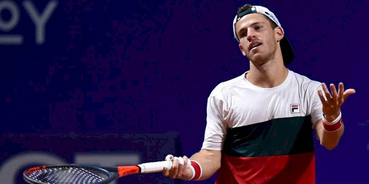 Diego Schwartzman se lesionó y será la primera gran baja del ATP de Santiago