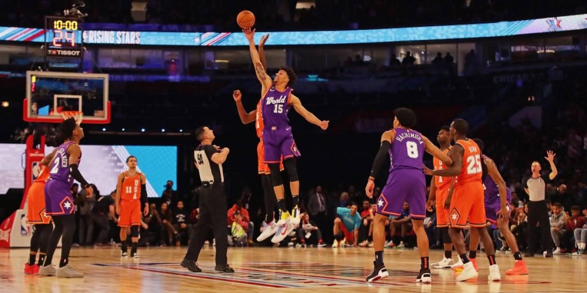 El Team USA se queda con el NBA Rising Stars, Bridges fue el MVP