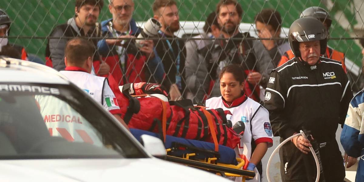 VIDEO: Hospitalizan a piloto tras accidente en E-Prix México