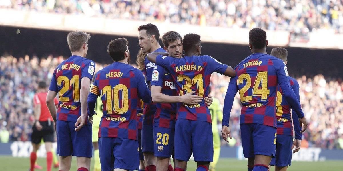 Revelan la segunda equipación del Barça para la temporada 2020-21