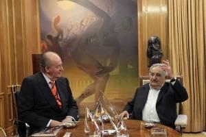 José Mujica en reunión con el rey Emérito Juan Carlos I de España
