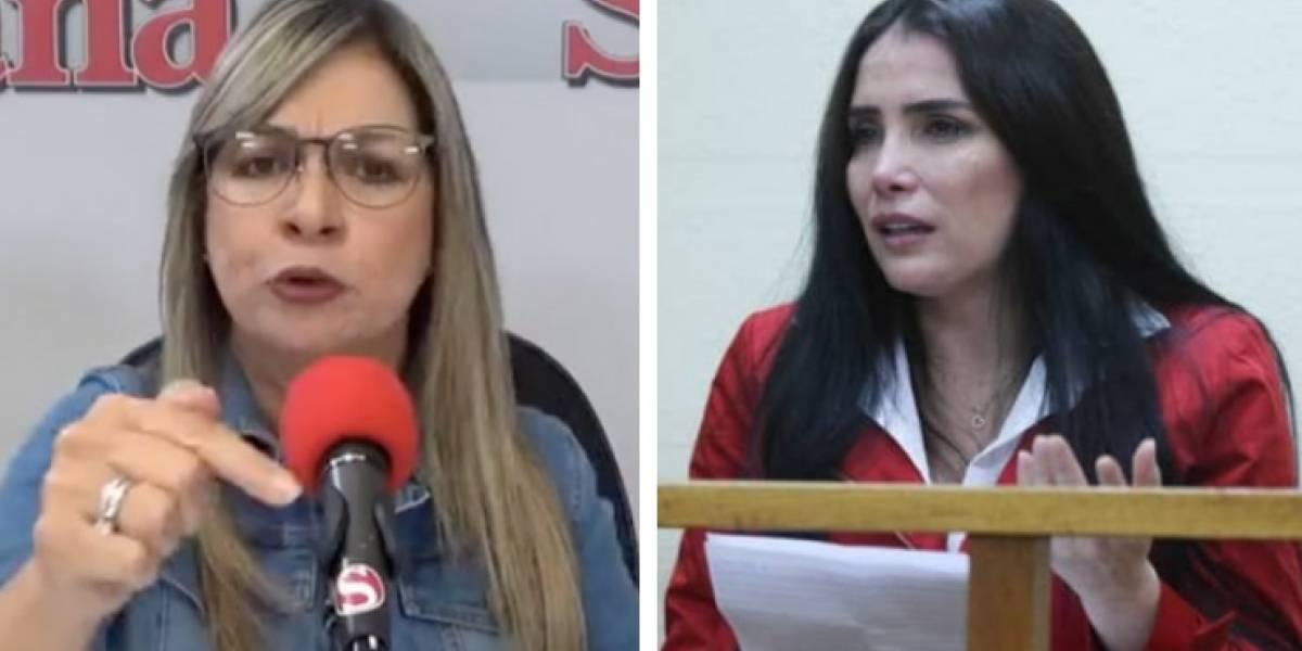 """Vicky Dávila entrevistó a Aida Merlano y dice que su relato es """"muy grave"""" y """"tenaz"""""""