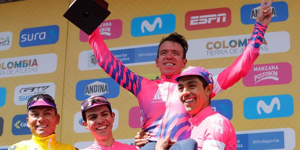 Ecuador queda en tercer lugar en el Tour de Colombia