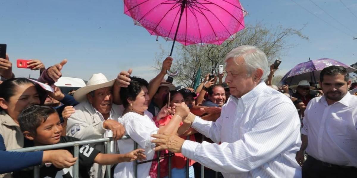 AMLO promete justicia, paz y tranquilidad en Guanajuato y todo el país