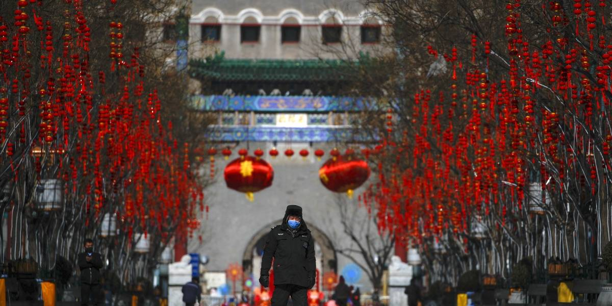 China reporta dos contagios de coronavirus