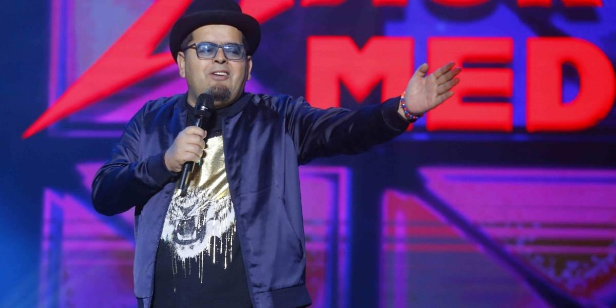Lo intentó pero no pudo: Mauricio Medina no convenció con su rutina en Festival de Dichato