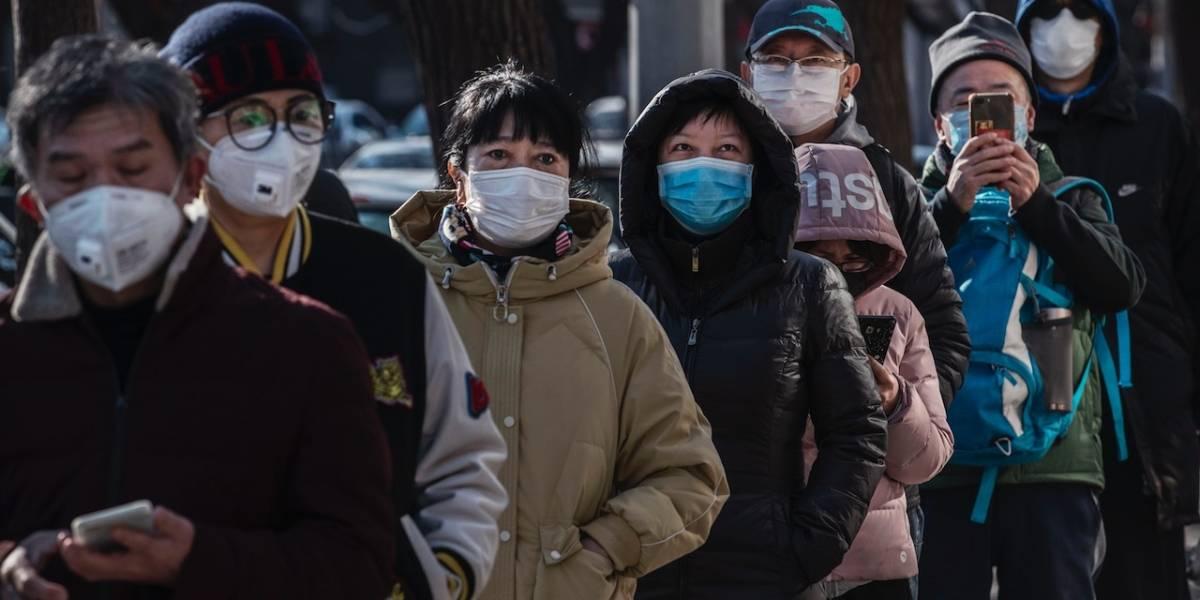 ¡Insólito! Por miedo al coronavirus escasea tapabocas en Bogotá