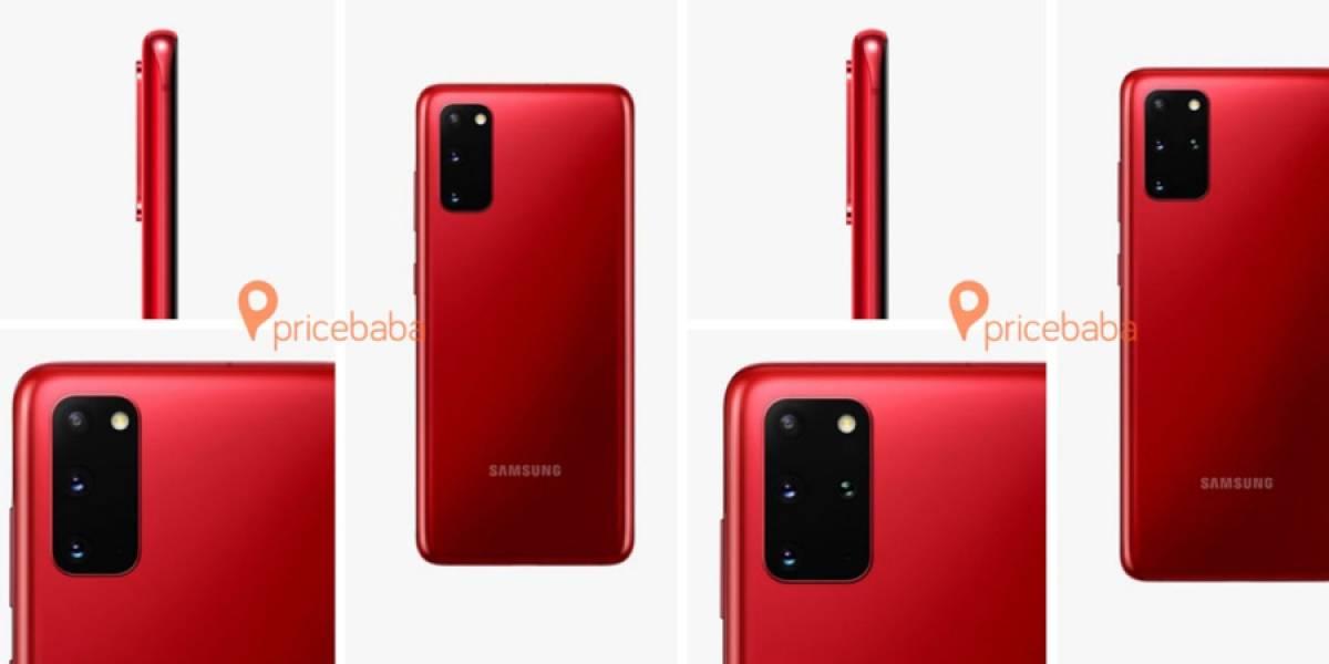 ¡Sorpresa! se filtran tres nuevos colores para el Samsung Galaxy S20