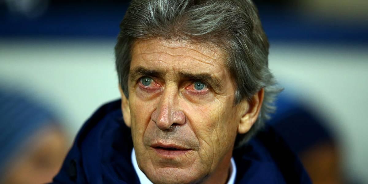 Sufre Pellegrini: El título de la Premier League que ganó con el Manchester City en el 2014 está en peligro
