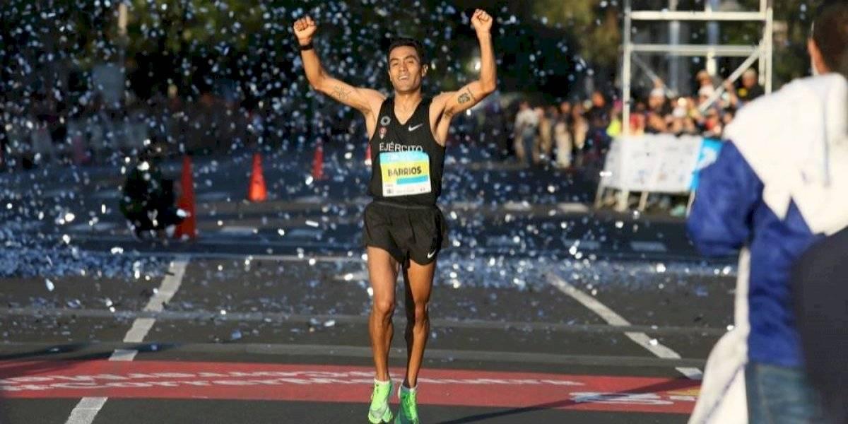 Brilla Juan Luis Barrios y termina tercero en el 21K Guadalajara