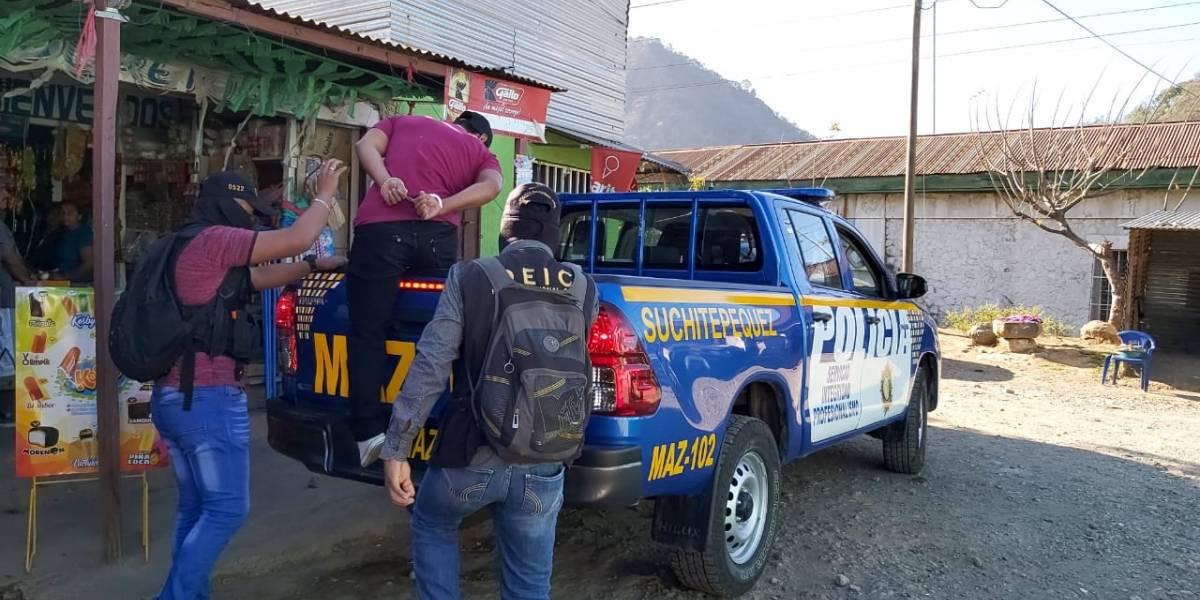 """Estado de Prevención en Escuintla logra la captura de """"los Macheteros"""""""