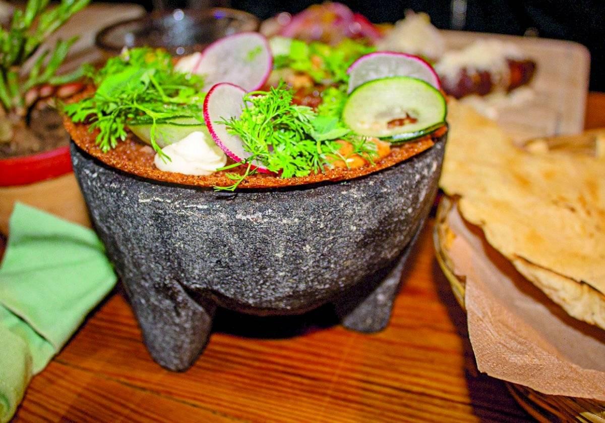 Los platillos de este restaurante representan de manera completa la gastronomía de Oaxaca. Maryelin Reyes