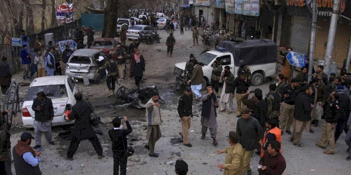 Atentado contra procesión religiosa en Pakistán deja 8 muertos