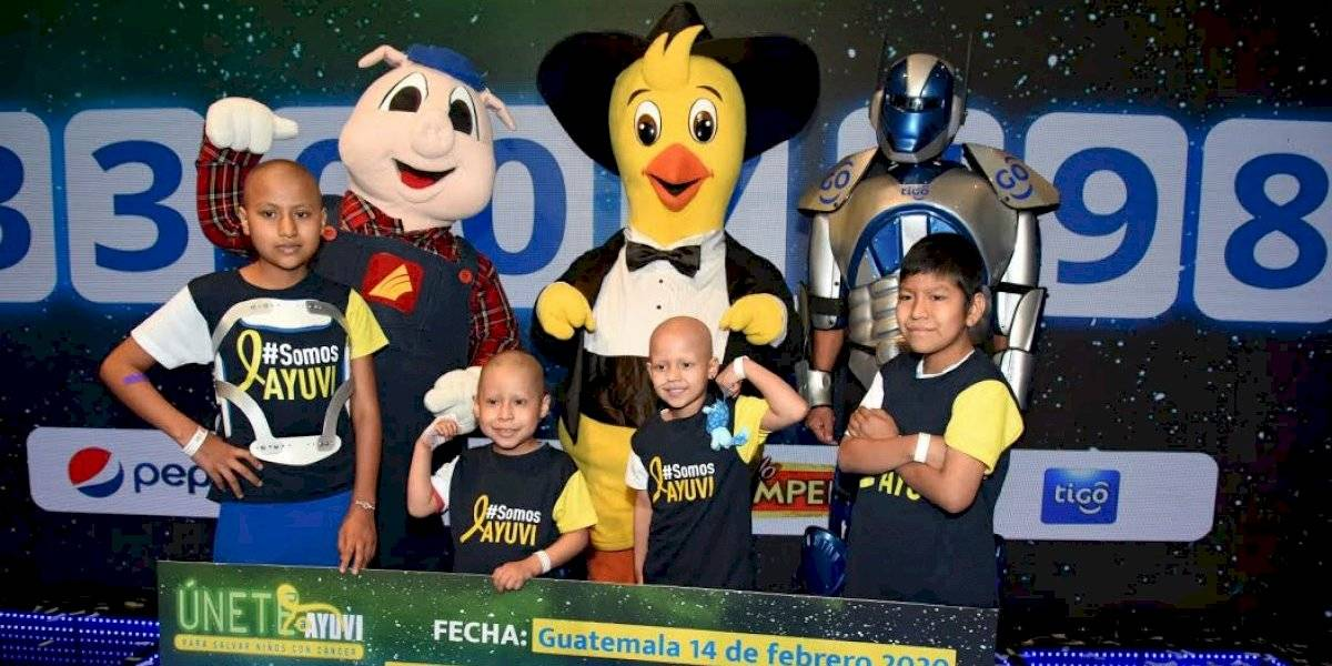 Rifa Únete a Ayuvi recauda más de Q33 millones para ayudar a niños con cáncer
