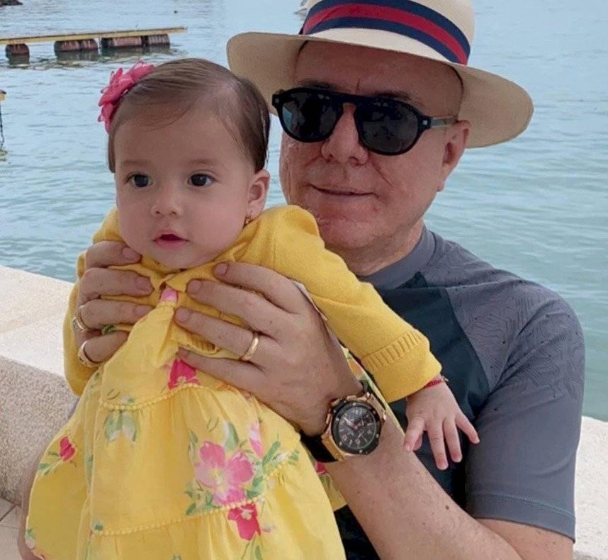 Vito Muñoz y su hija
